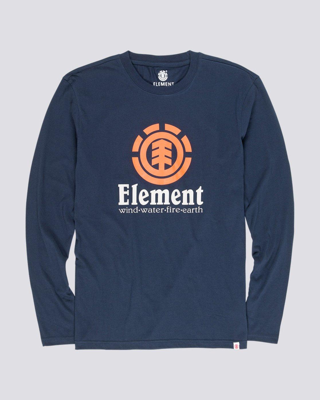 3 Vertical - T-Shirt manches longues pour Homme Bleu Q1LSA3ELF9 Element