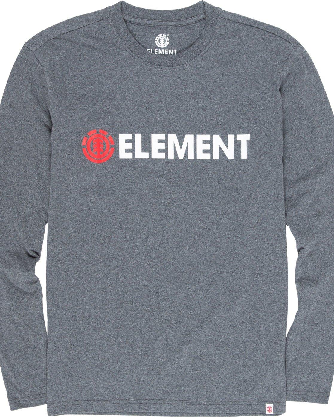 4 Blazin - Long Sleeve T-Shirt for Men Grey Q1LSA4ELF9 Element