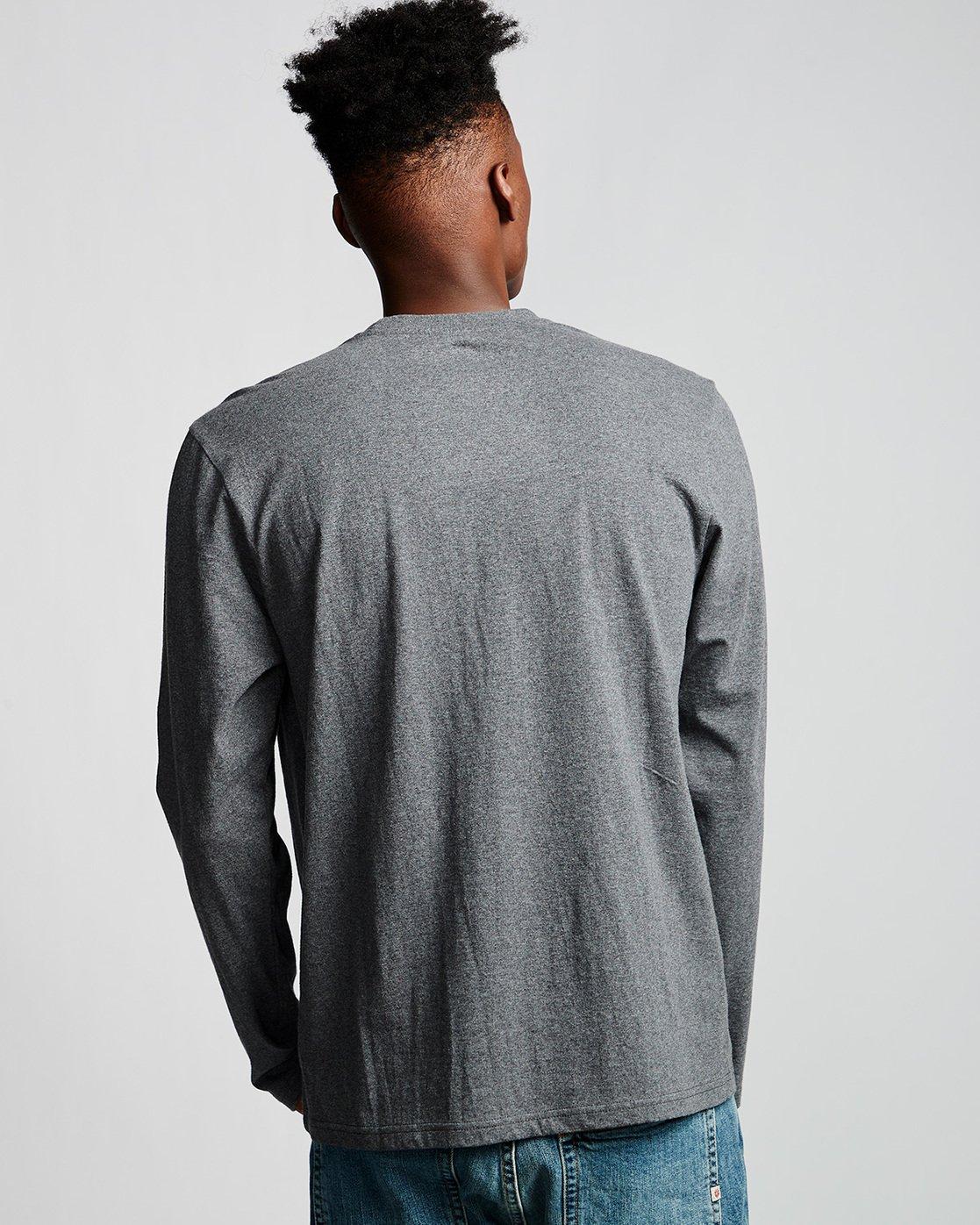 2 Blazin - Long Sleeve T-Shirt for Men Grey Q1LSA4ELF9 Element