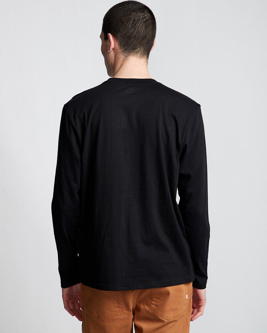 2 Blazin - T-Shirt manches longues pour Homme Noir Q1LSA4ELF9 Element