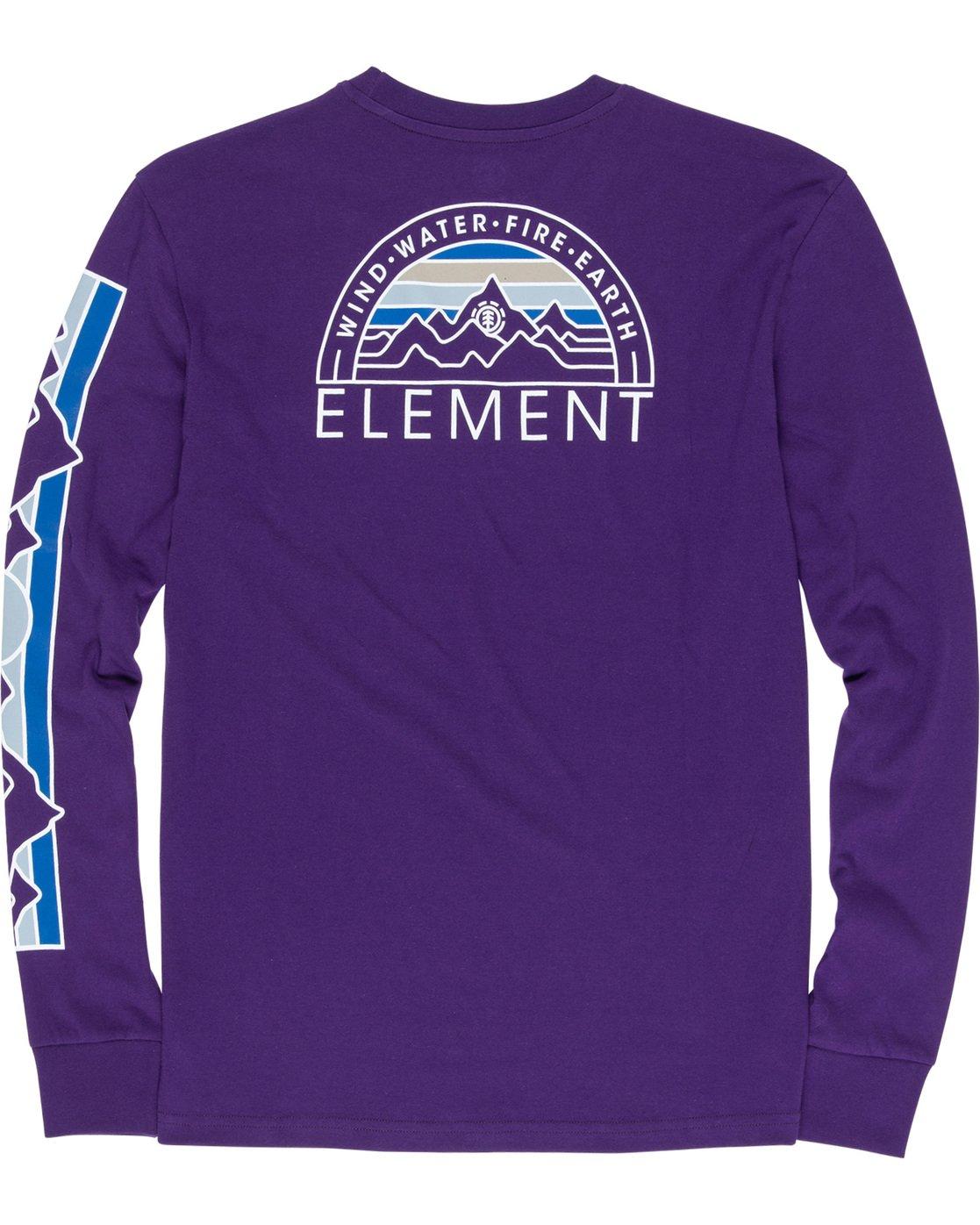 6 Odyssey - Long Sleeve T-Shirt Purple Q1LSA9ELF9 Element