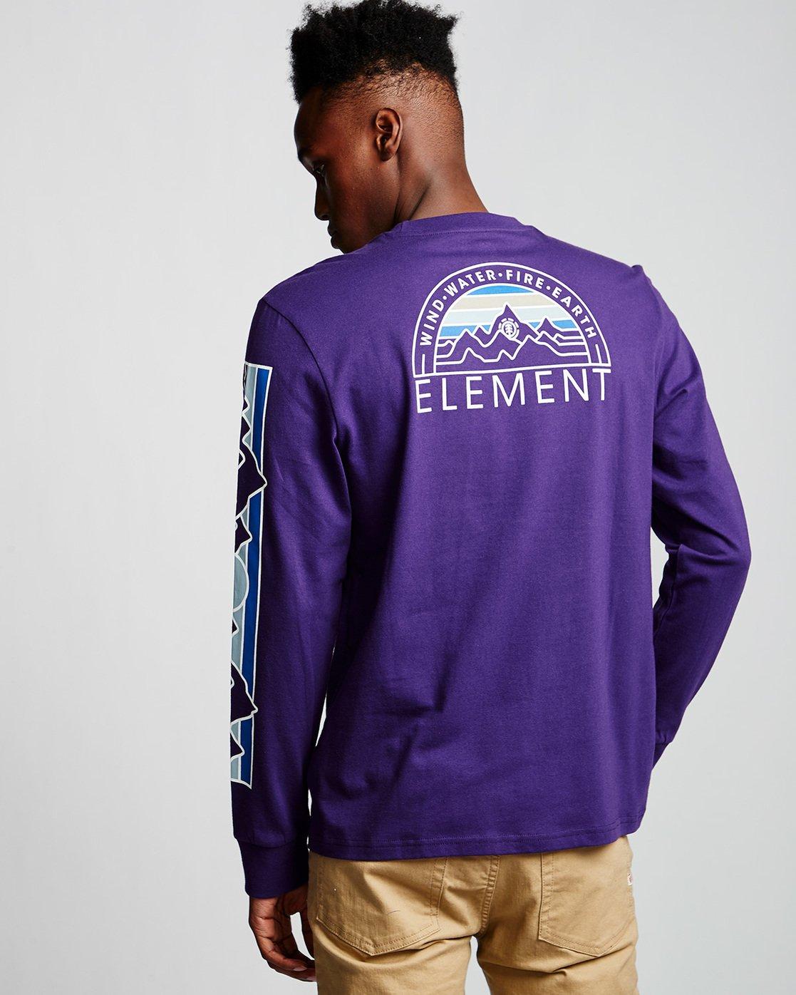 2 Odyssey - Long Sleeve T-Shirt Purple Q1LSA9ELF9 Element