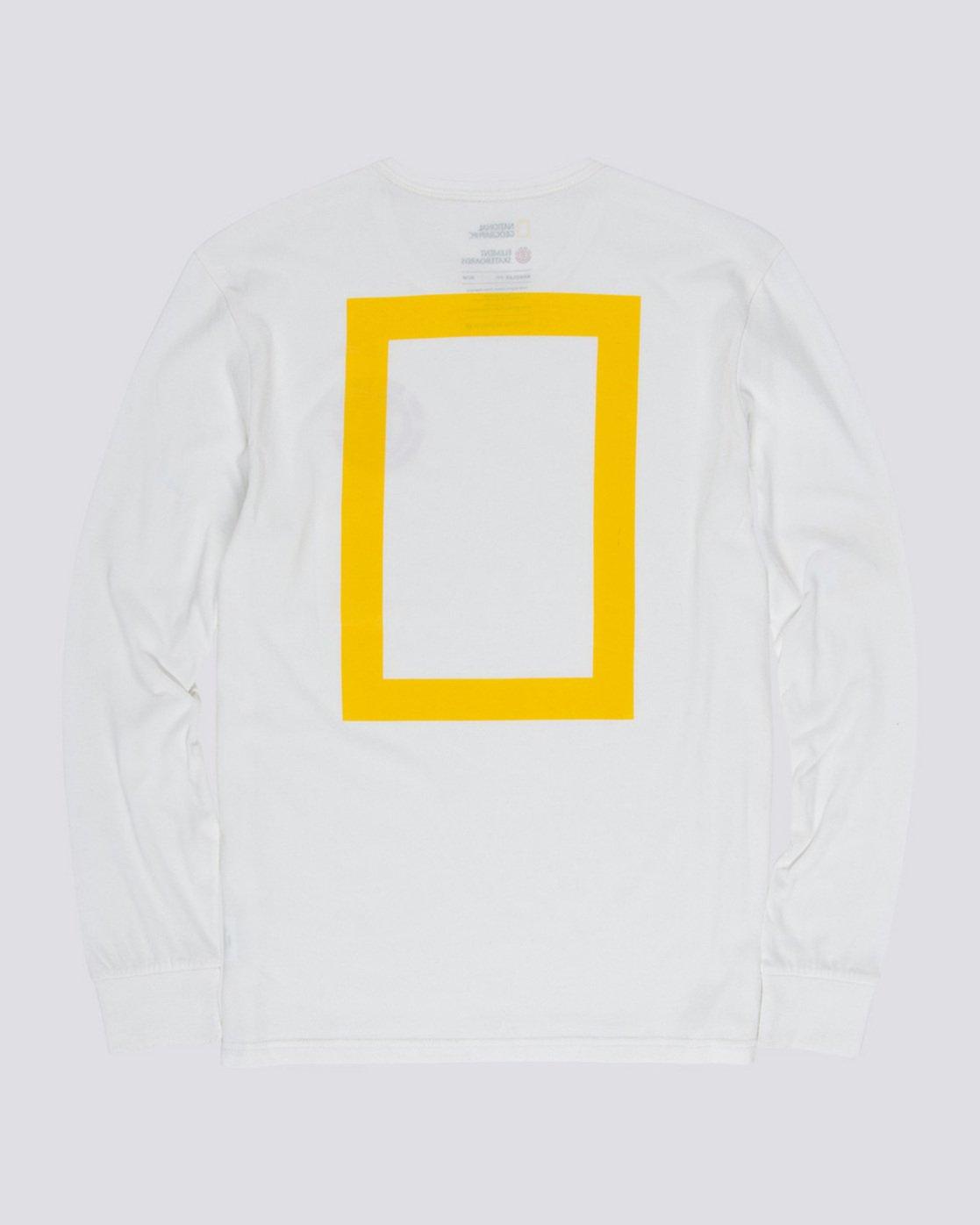 4 Unison - Long Sleeve T-Shirt White Q1LSB8ELF9 Element