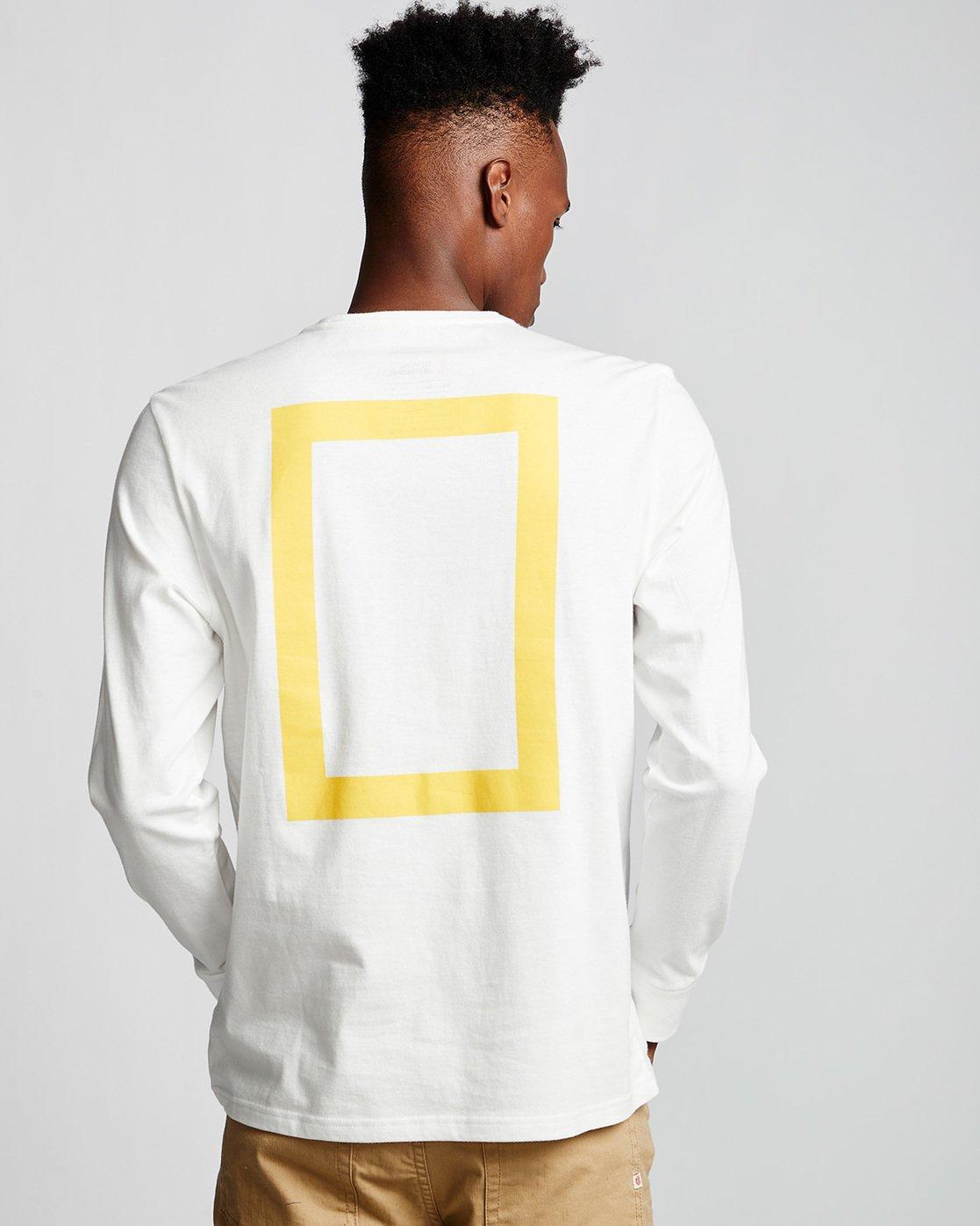 2 Unison - Long Sleeve T-Shirt White Q1LSB8ELF9 Element