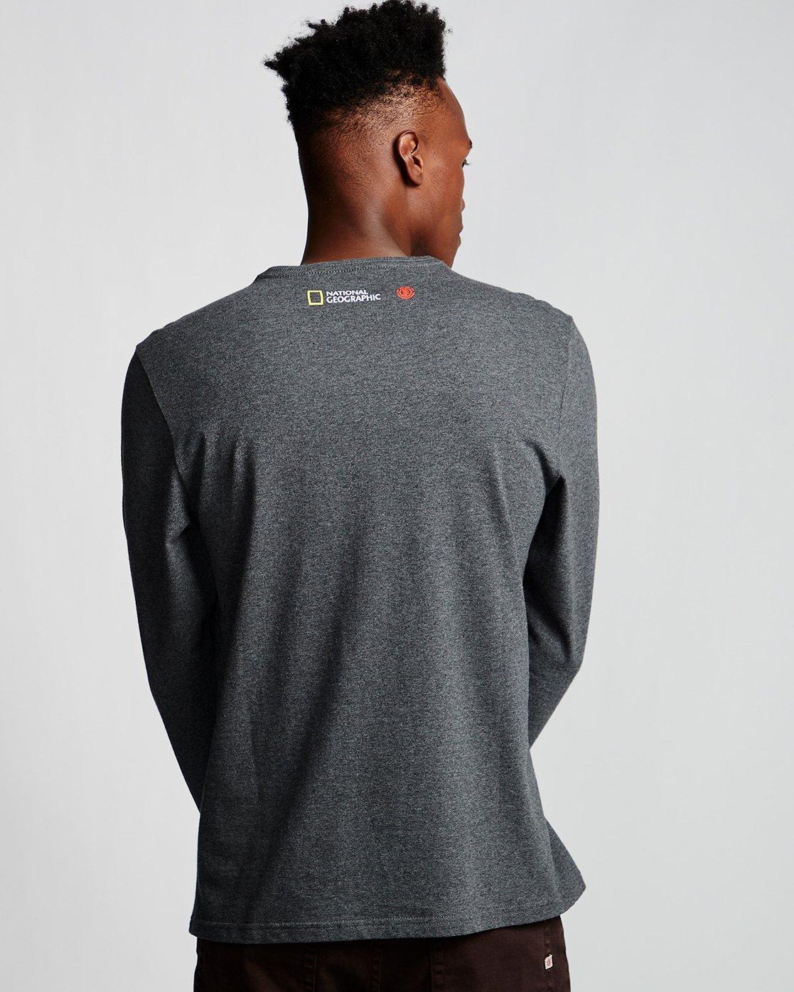 2 Surge Icon - Long Sleeve T-Shirt Grey Q1LSC3ELF9 Element