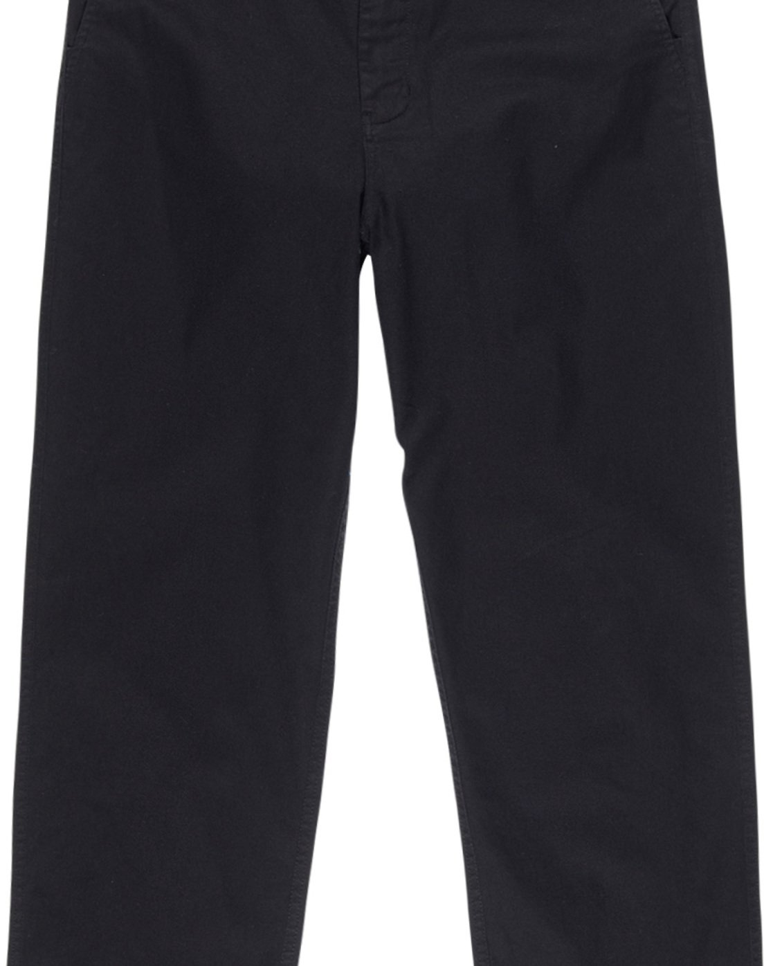2 Big Chino - Wide Leg Trousers for Men Black Q1PTA5ELF9 Element