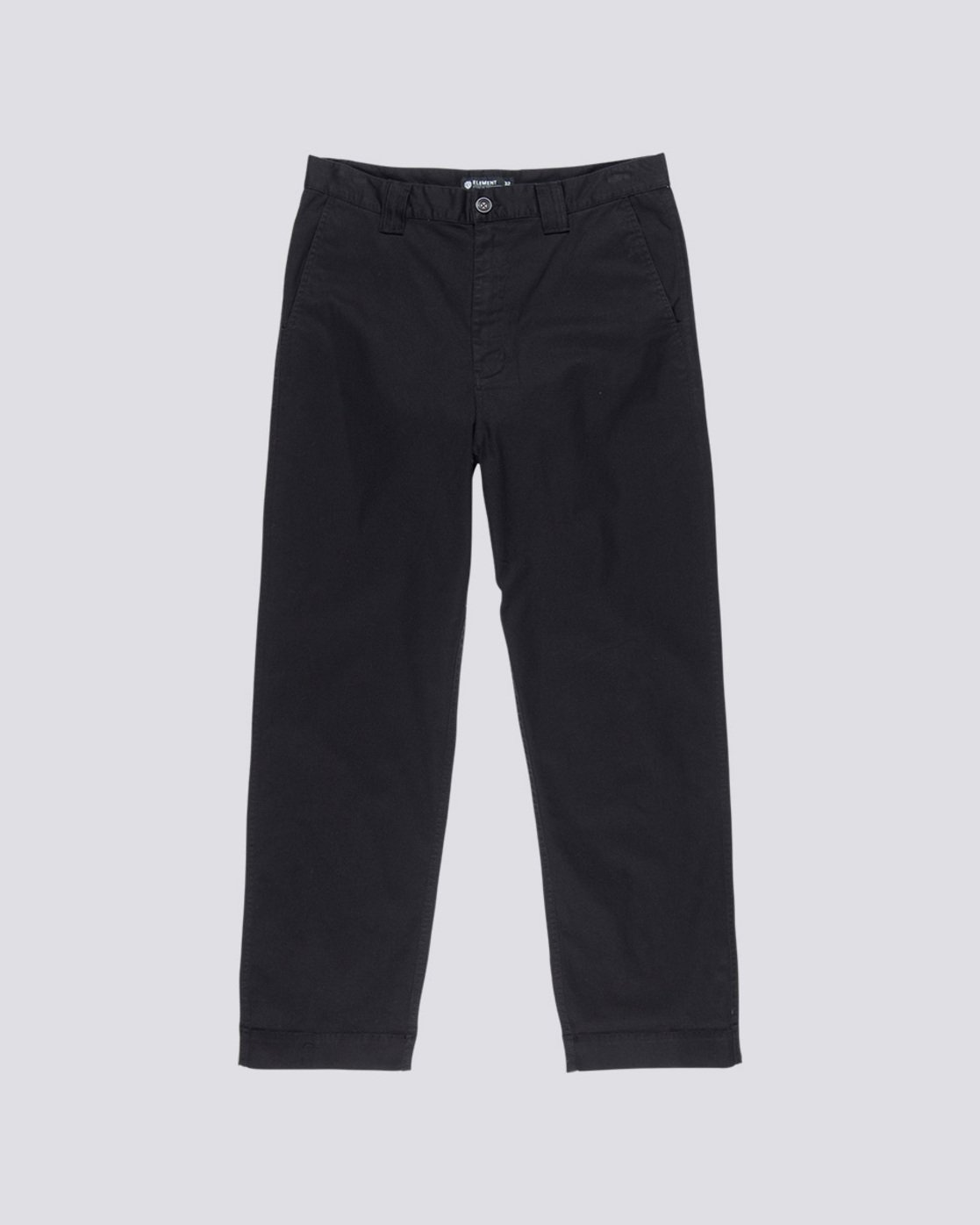 0 Big Chino - Wide Leg Trousers for Men Black Q1PTA5ELF9 Element