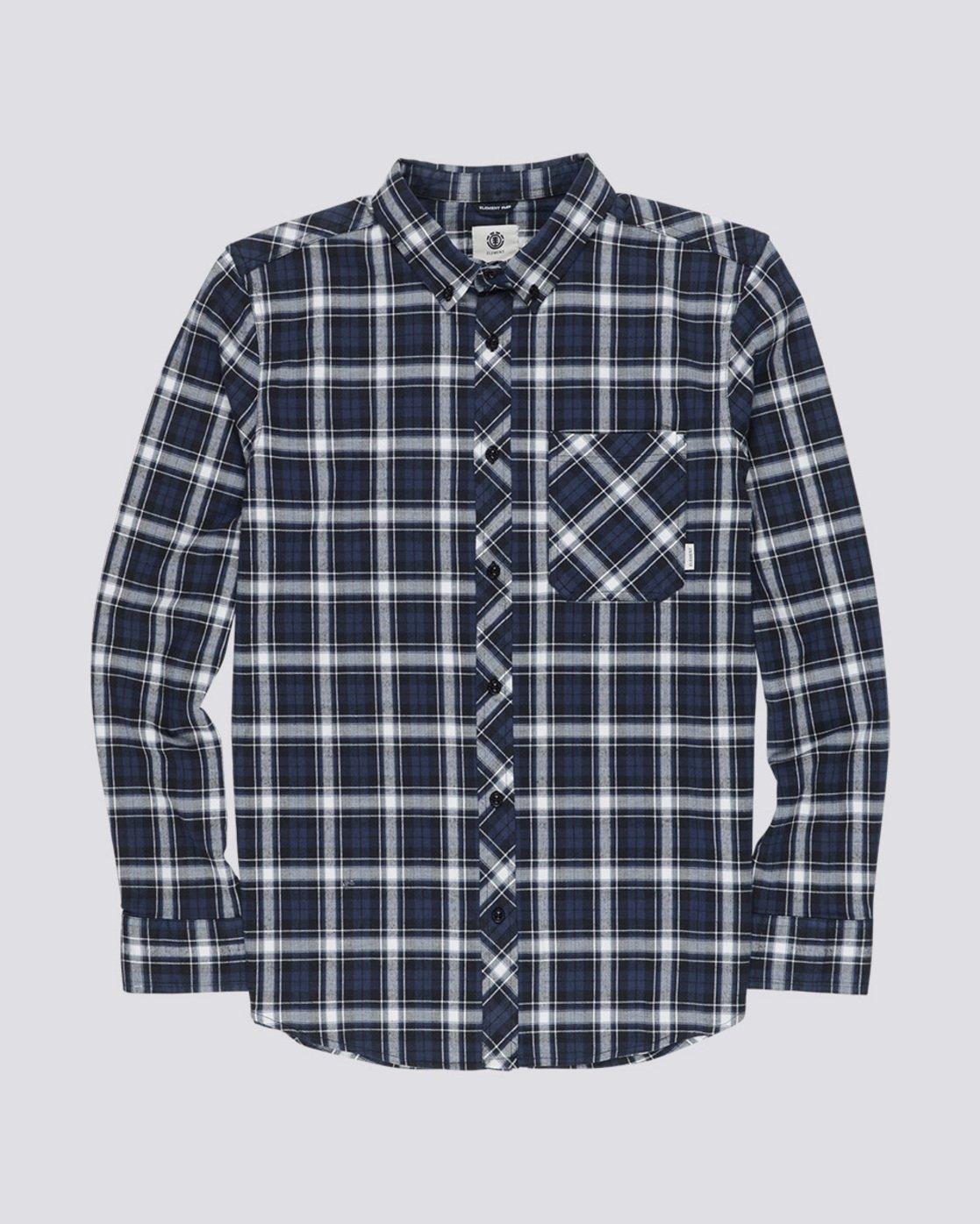 3 Lumber Classic - Long Sleeve Shirt Black Q1SHA3ELF9 Element