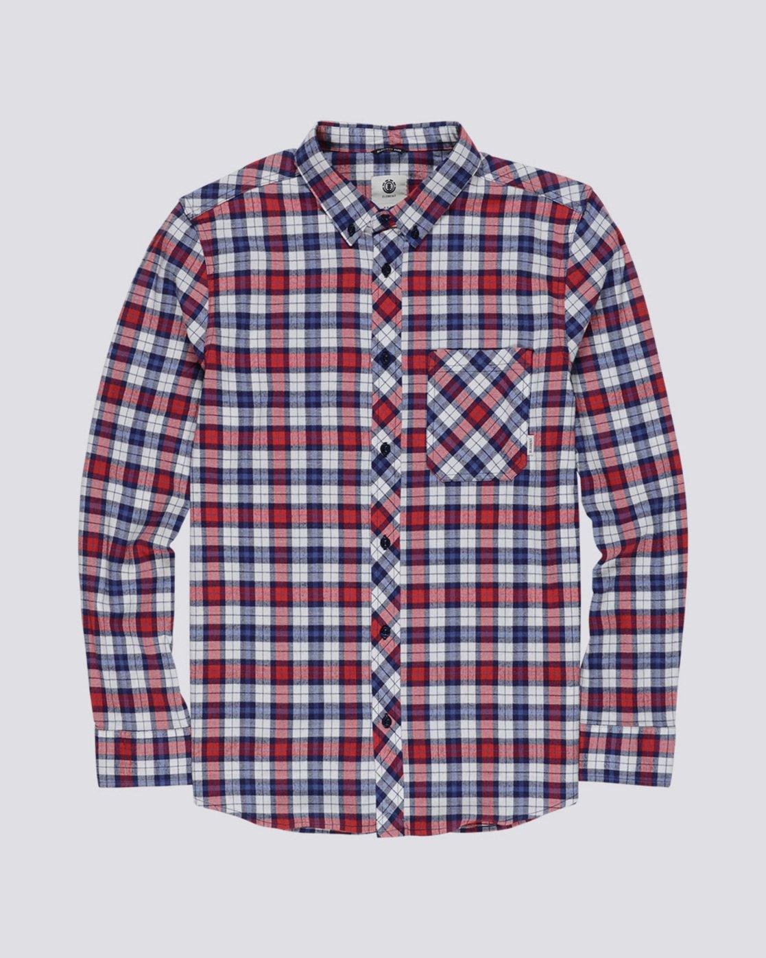 3 Lumber Classic - Long Sleeve Shirt Beige Q1SHA3ELF9 Element