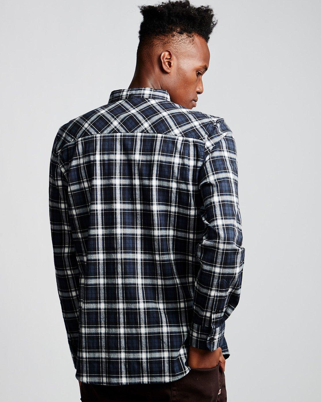 2 Lumber Classic - Long Sleeve Shirt Black Q1SHA3ELF9 Element