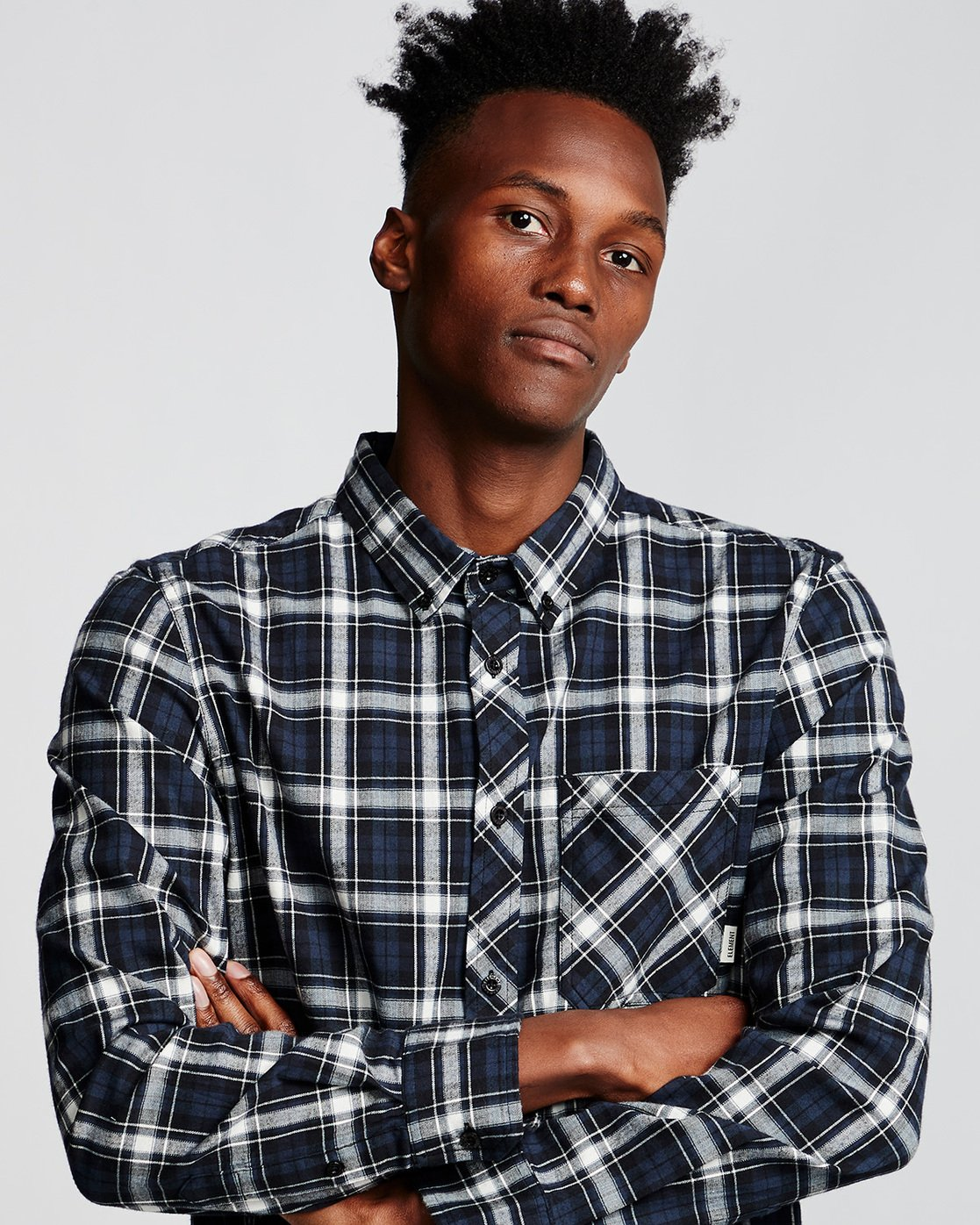 1 Lumber Classic - Long Sleeve Shirt Black Q1SHA3ELF9 Element