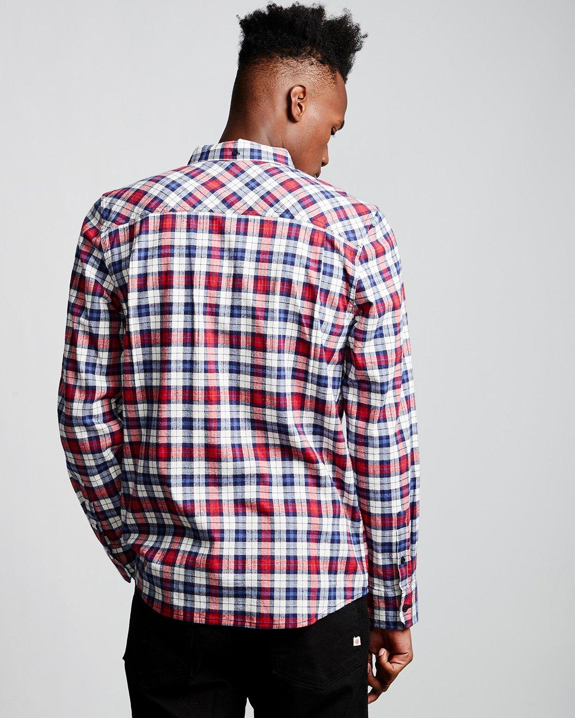 2 Lumber Classic - Long Sleeve Shirt Beige Q1SHA3ELF9 Element