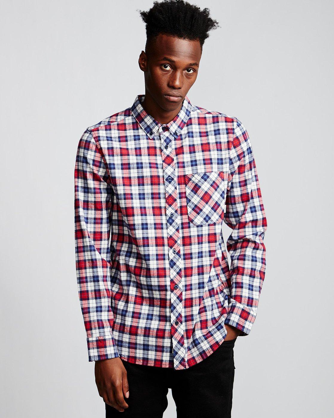 0 Lumber Classic - Long Sleeve Shirt Beige Q1SHA3ELF9 Element