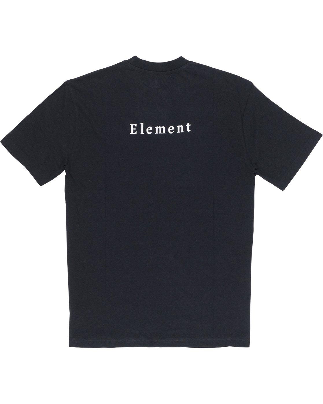 6 SD - T-Shirt Black Q1SSA3ELF9 Element