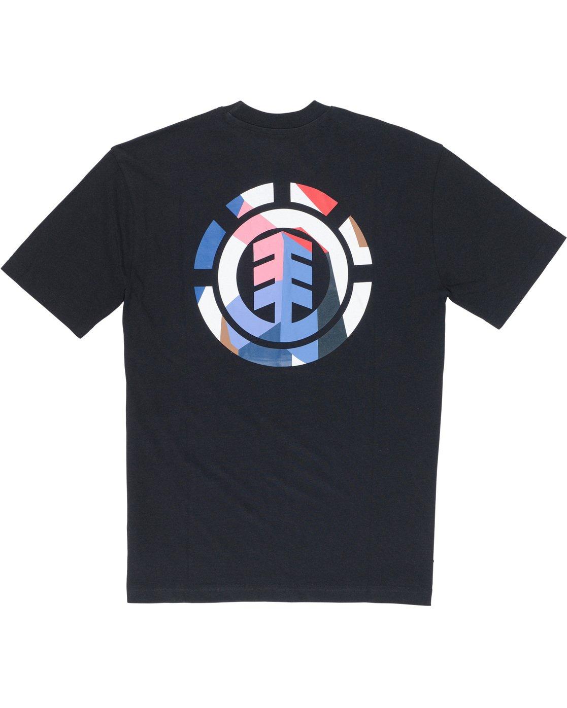 6 SD Icon - T-Shirt Black Q1SSA5ELF9 Element