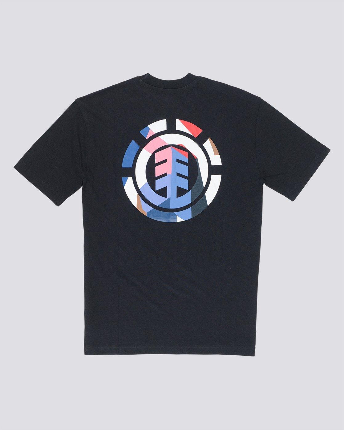 4 SD Icon - T-Shirt Black Q1SSA5ELF9 Element