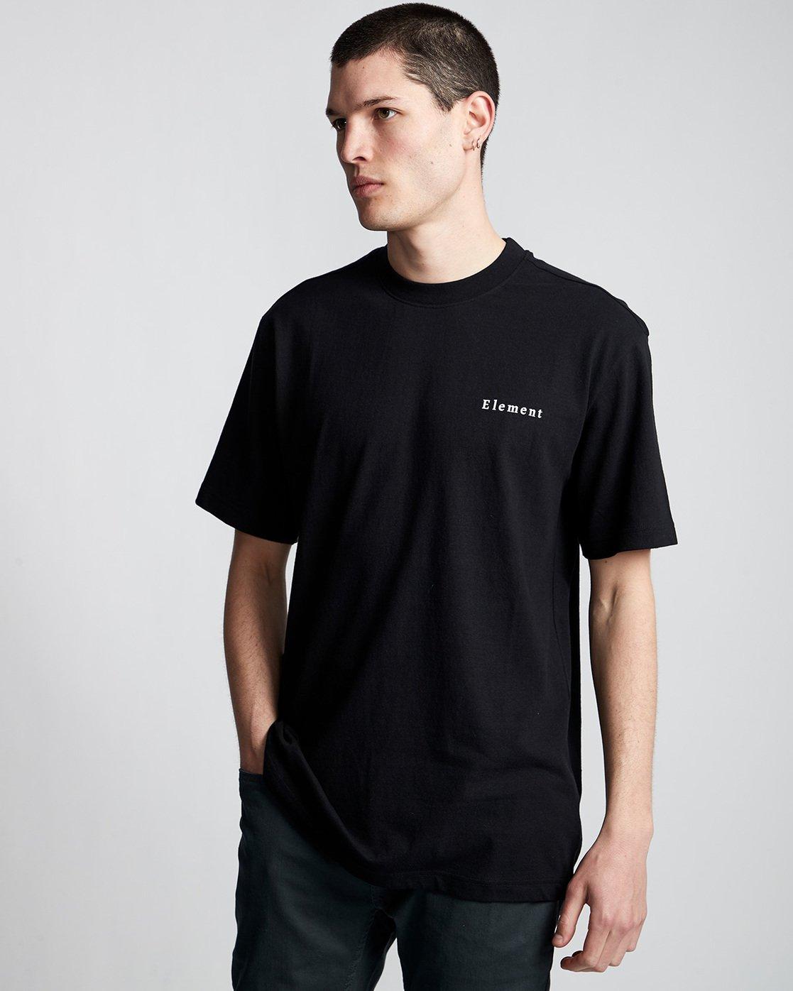 0 SD Icon - T-Shirt Black Q1SSA5ELF9 Element