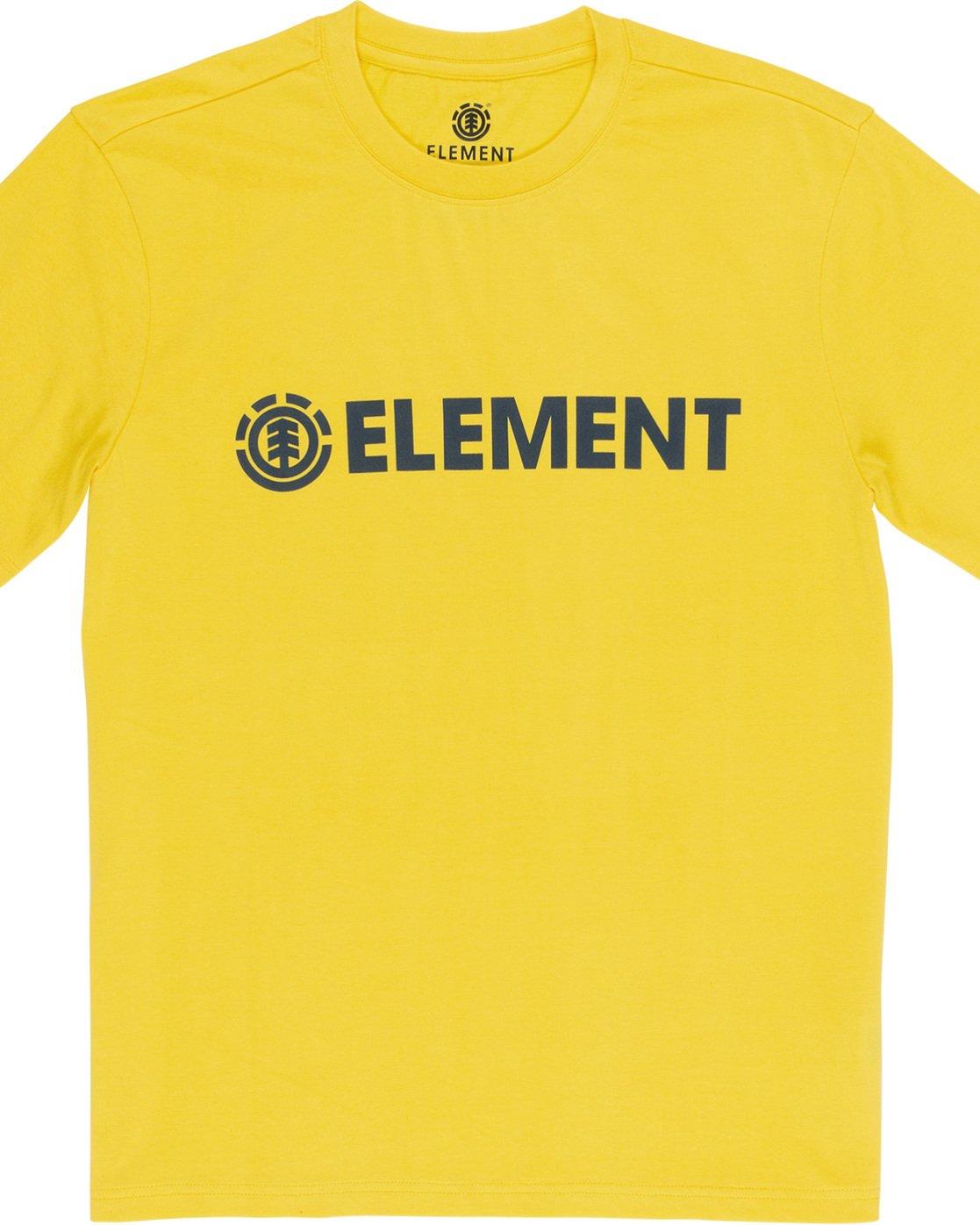4 Blazin - Maglietta a maniche corte da Uomo Yellow Q1SSA6ELF9 Element
