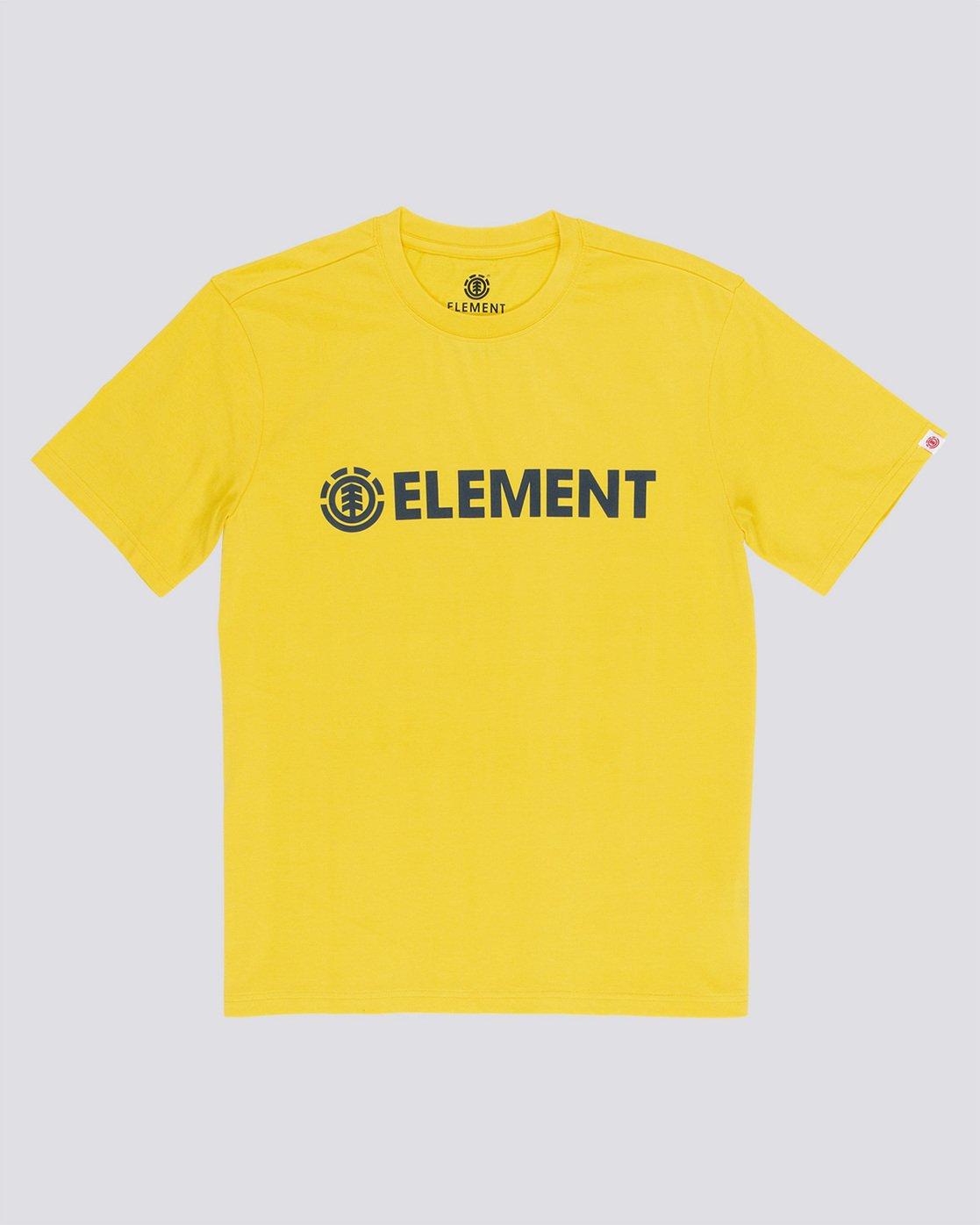 3 Blazin - Maglietta a maniche corte da Uomo Yellow Q1SSA6ELF9 Element