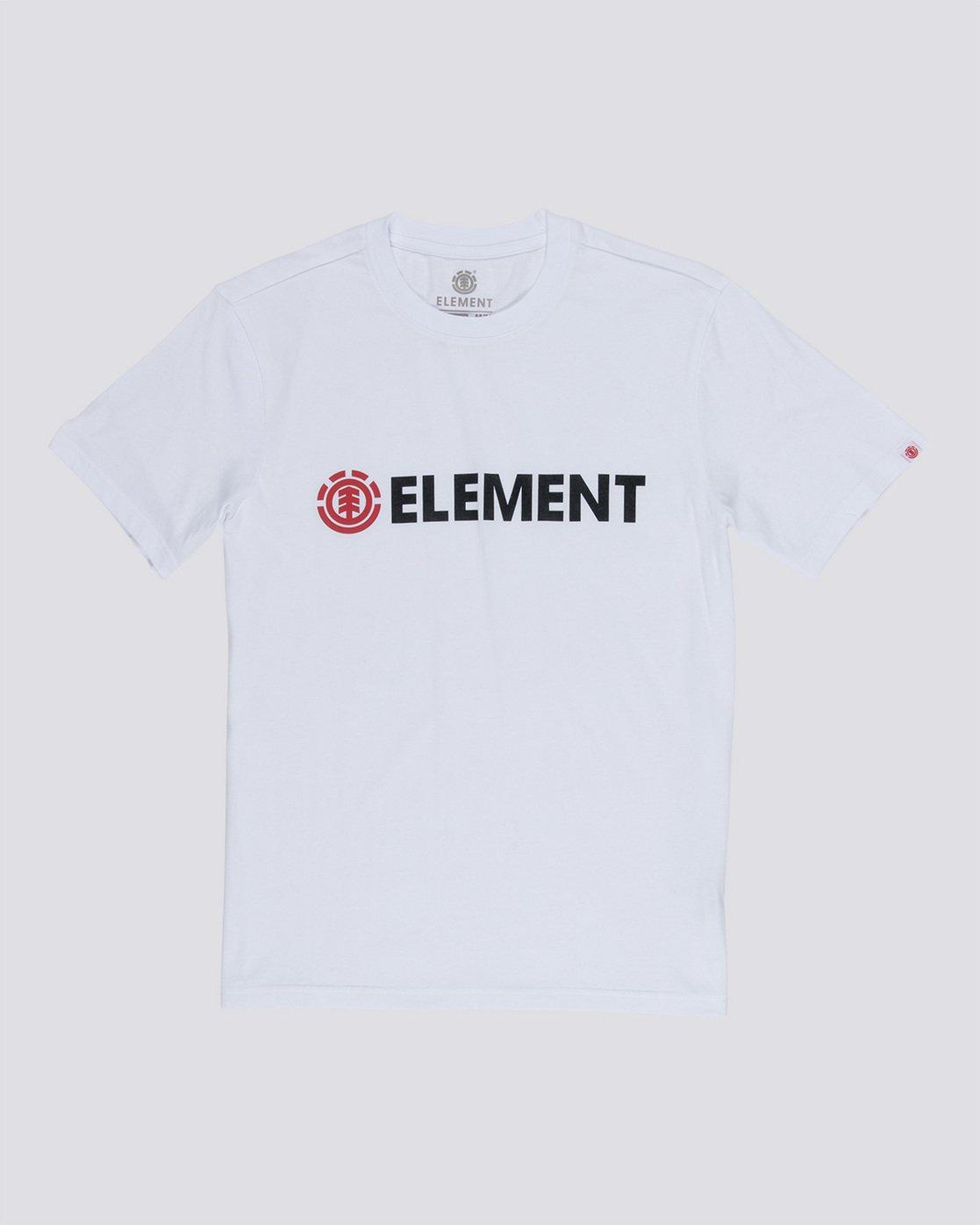 0 Blazin - T-Shirt White Q1SSA6ELF9 Element