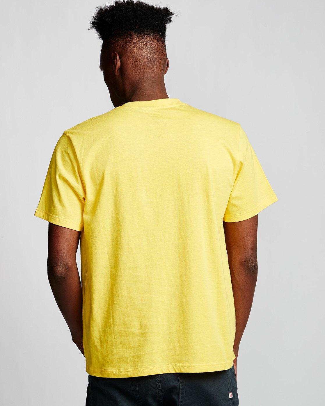2 Blazin - Maglietta a maniche corte da Uomo Yellow Q1SSA6ELF9 Element