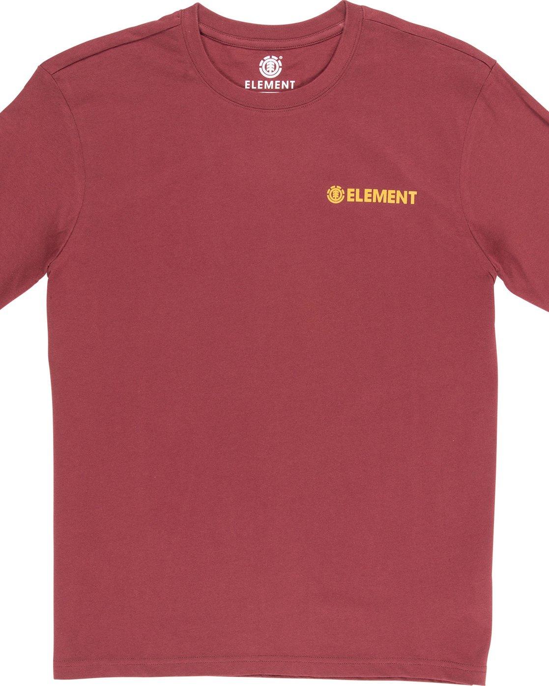 1 Blazin Chest - Maglietta da Uomo Red Q1SSA7ELF9 Element