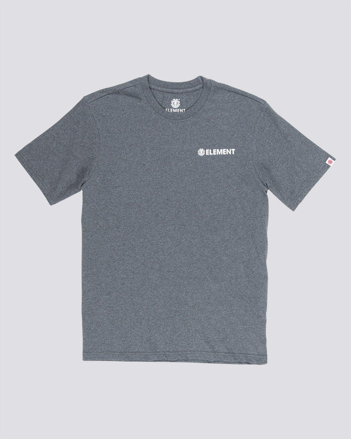 3 Blazin Chest - T-Shirt Grey Q1SSA7ELF9 Element