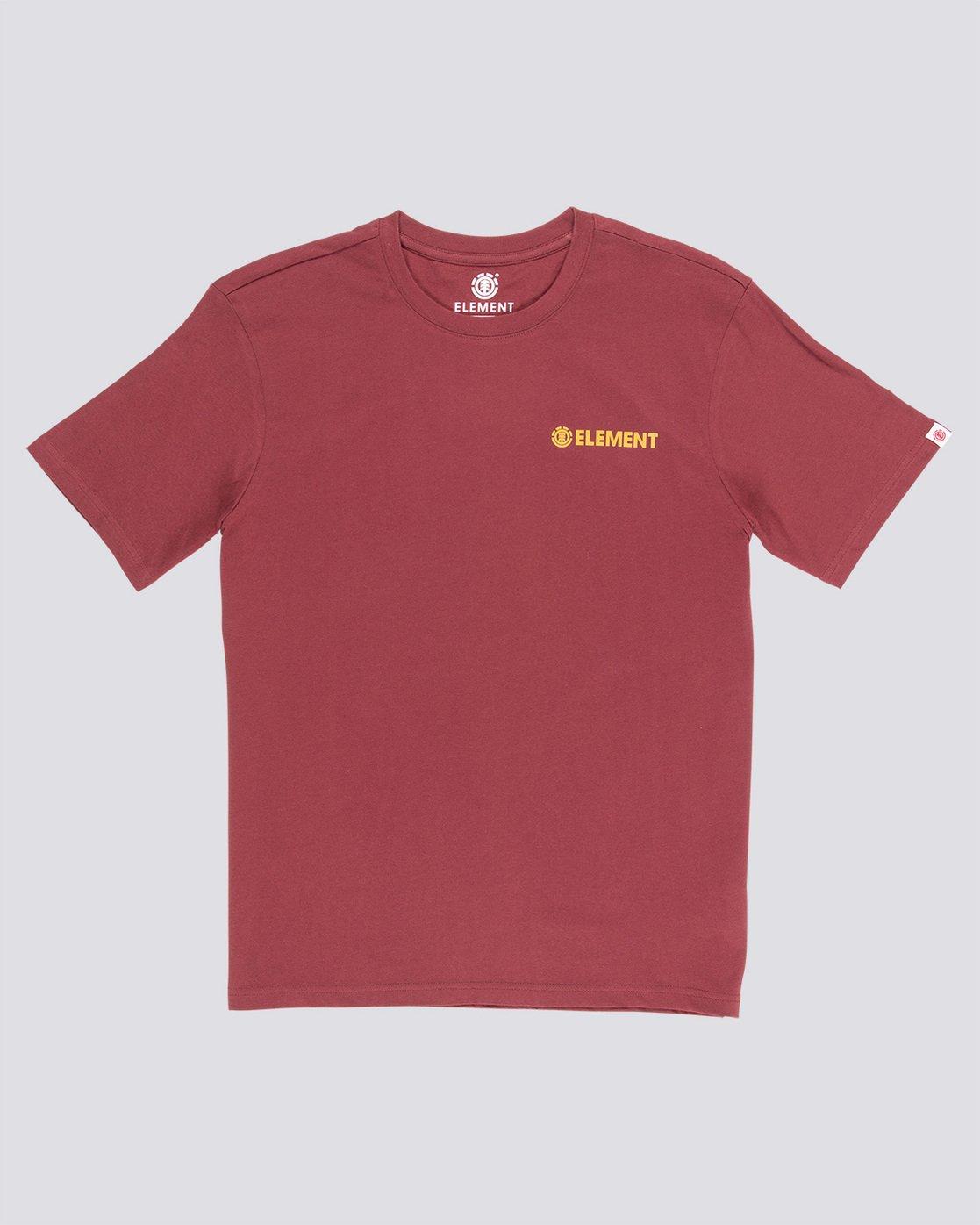 0 Blazin Chest - Maglietta da Uomo Red Q1SSA7ELF9 Element