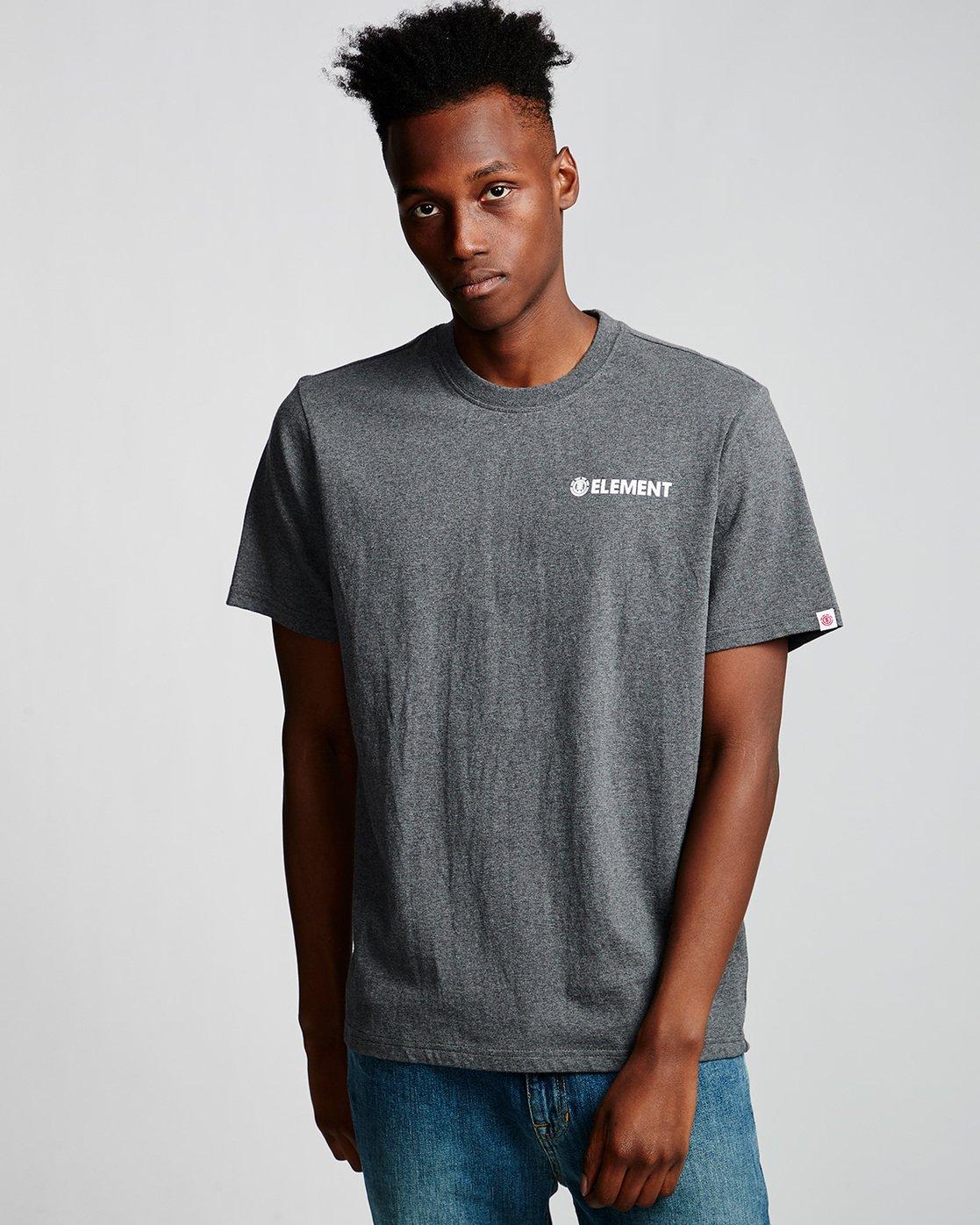 0 Blazin Chest - T-Shirt Grey Q1SSA7ELF9 Element