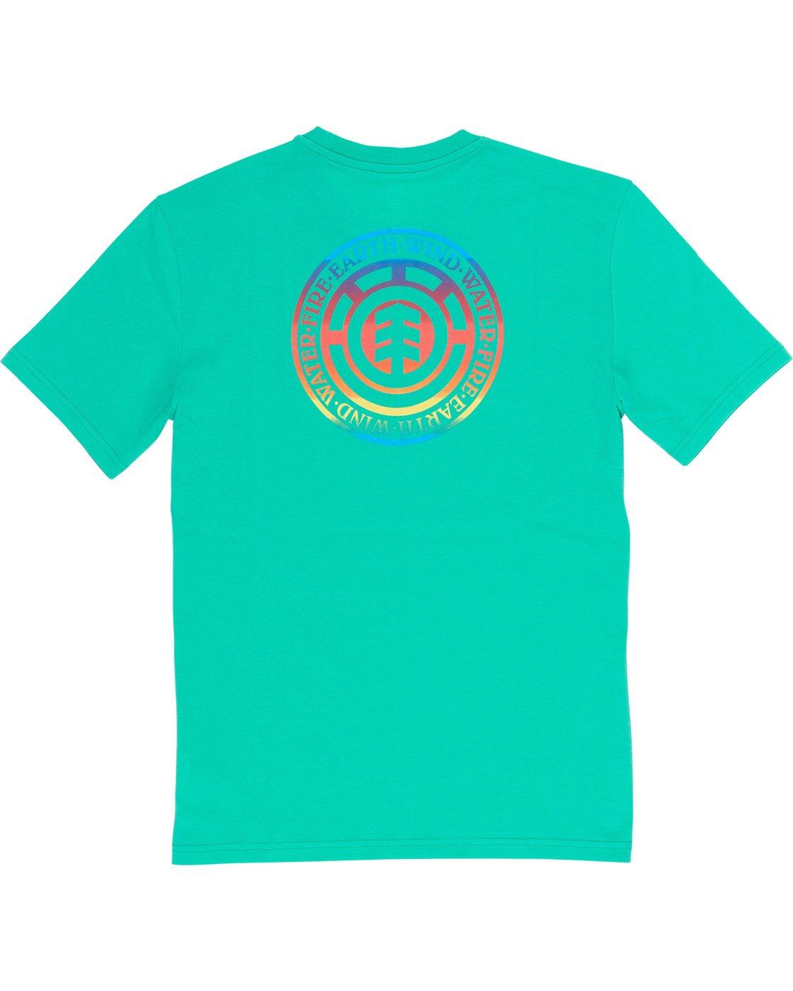 4 Seal Gradient - T-Shirt Green Q1SSB6ELF9 Element