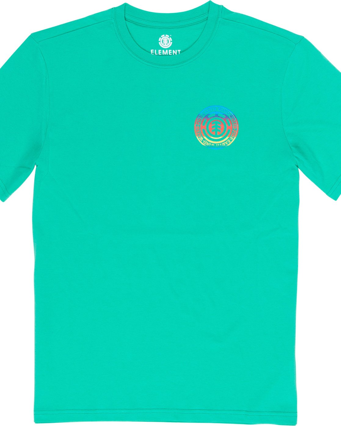 3 Seal Gradient - T-Shirt Green Q1SSB6ELF9 Element