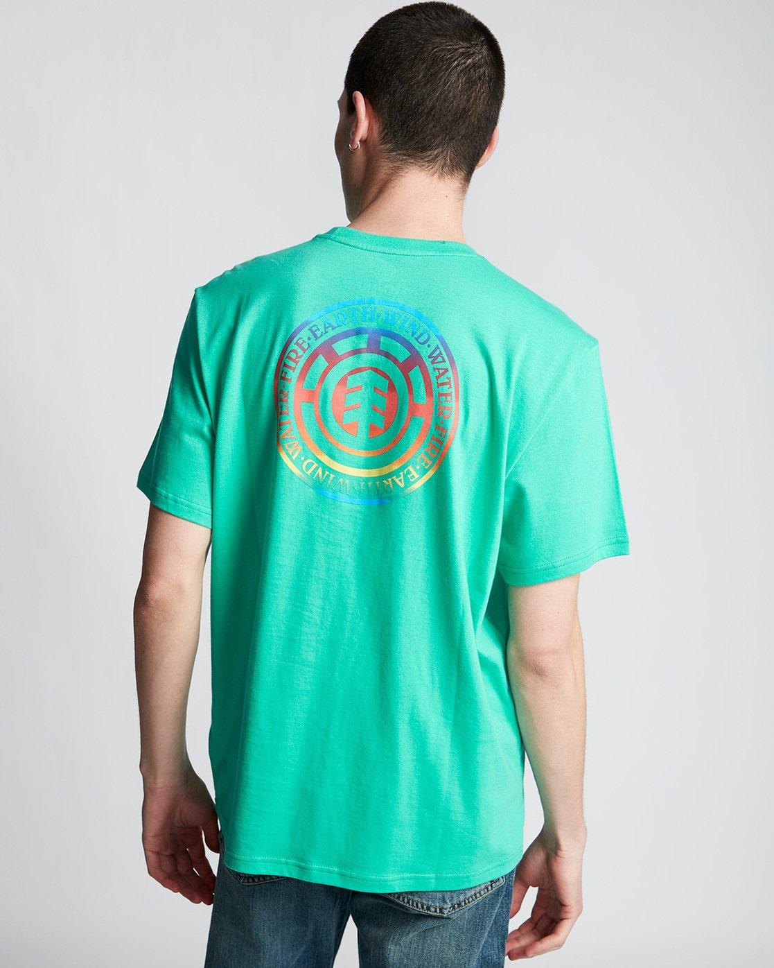 2 Seal Gradient - T-Shirt Green Q1SSB6ELF9 Element