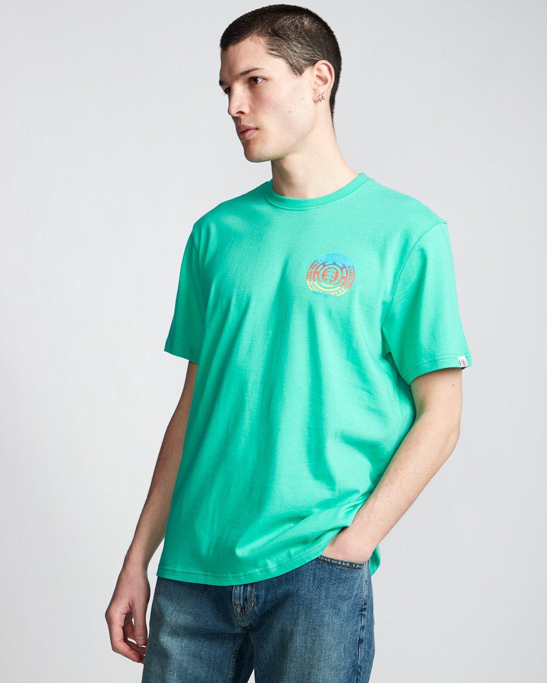 0 Seal Gradient - T-Shirt Green Q1SSB6ELF9 Element