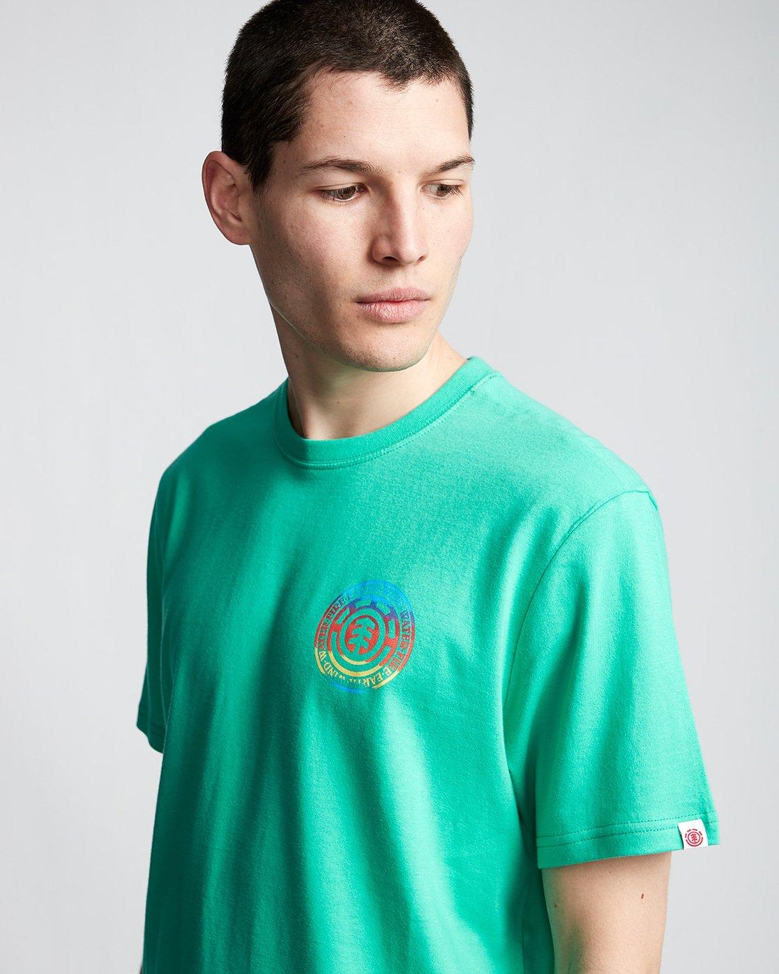 1 Seal Gradient - T-Shirt Green Q1SSB6ELF9 Element