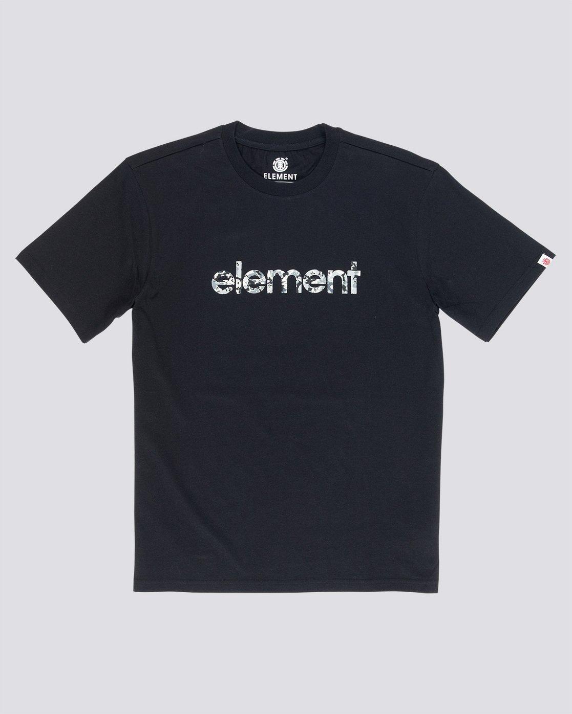 3 Verse - T-Shirt Black Q1SSB8ELF9 Element