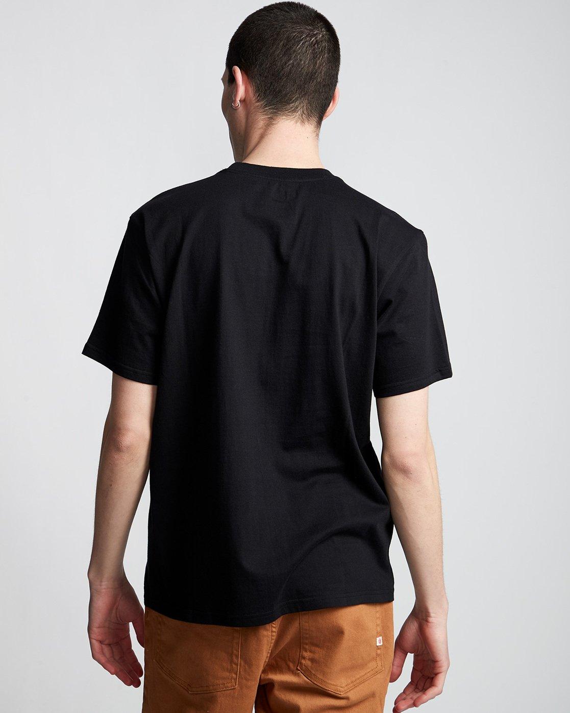 2 Verse - T-Shirt Black Q1SSB8ELF9 Element