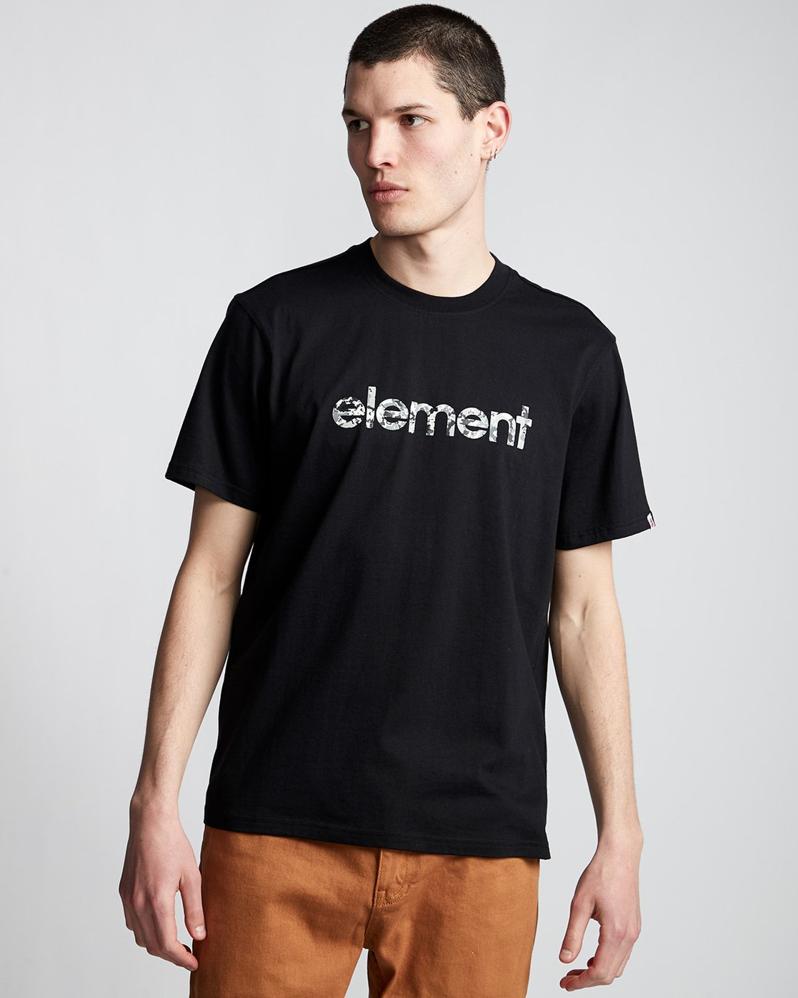 0 Verse - T-Shirt Black Q1SSB8ELF9 Element