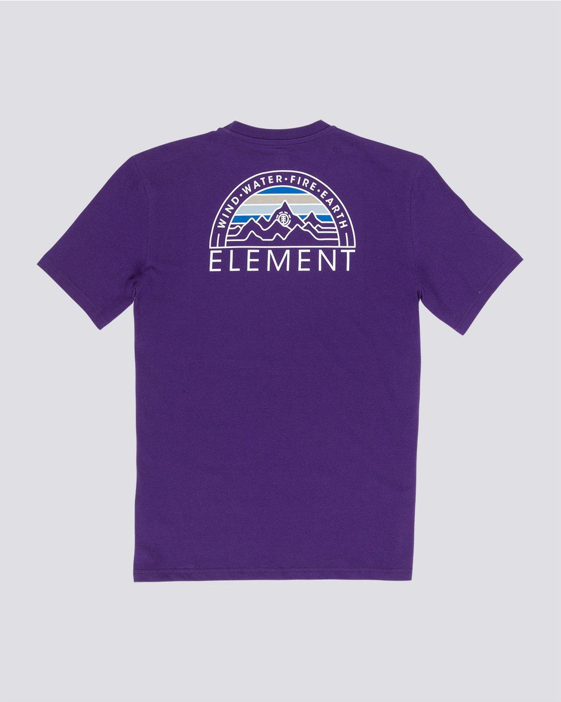 4 Odyssey - T-Shirt Purple Q1SSC8ELF9 Element