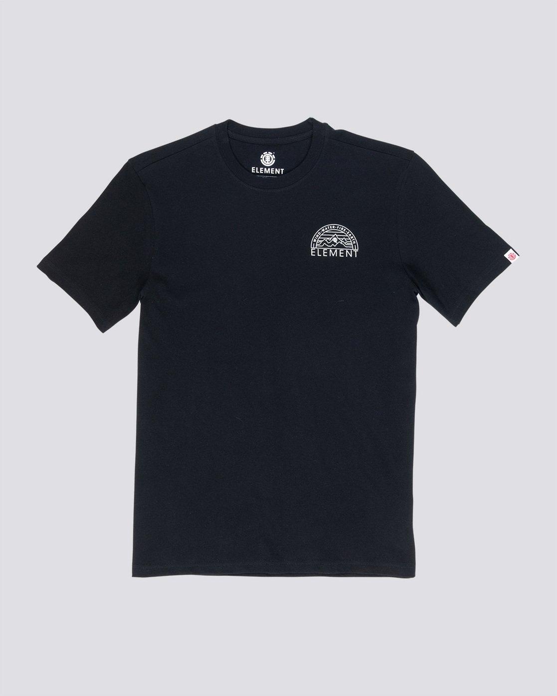 3 Odyssey - T-Shirt Black Q1SSC8ELF9 Element