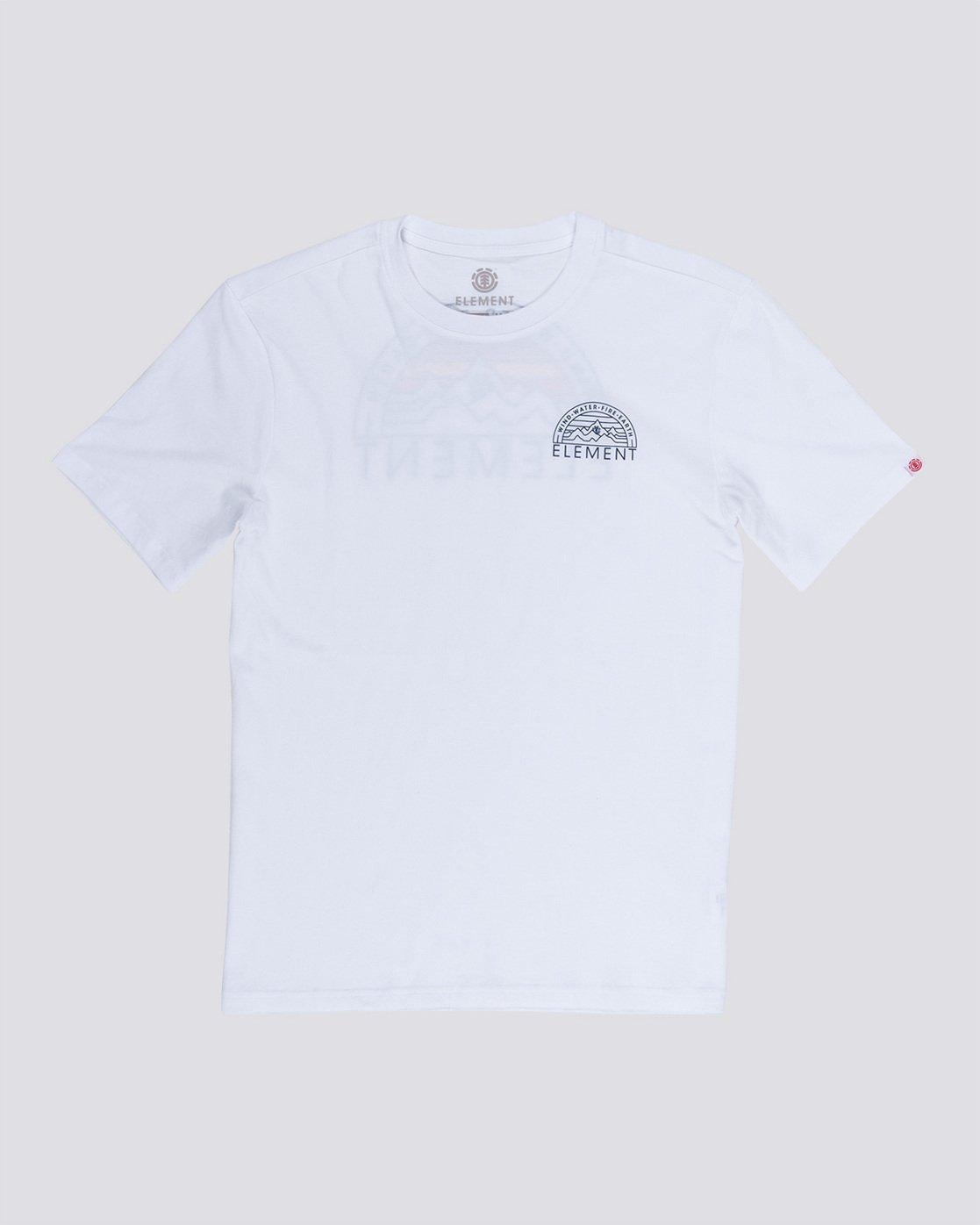 3 Odyssey - Maglietta da Uomo White Q1SSC8ELF9 Element
