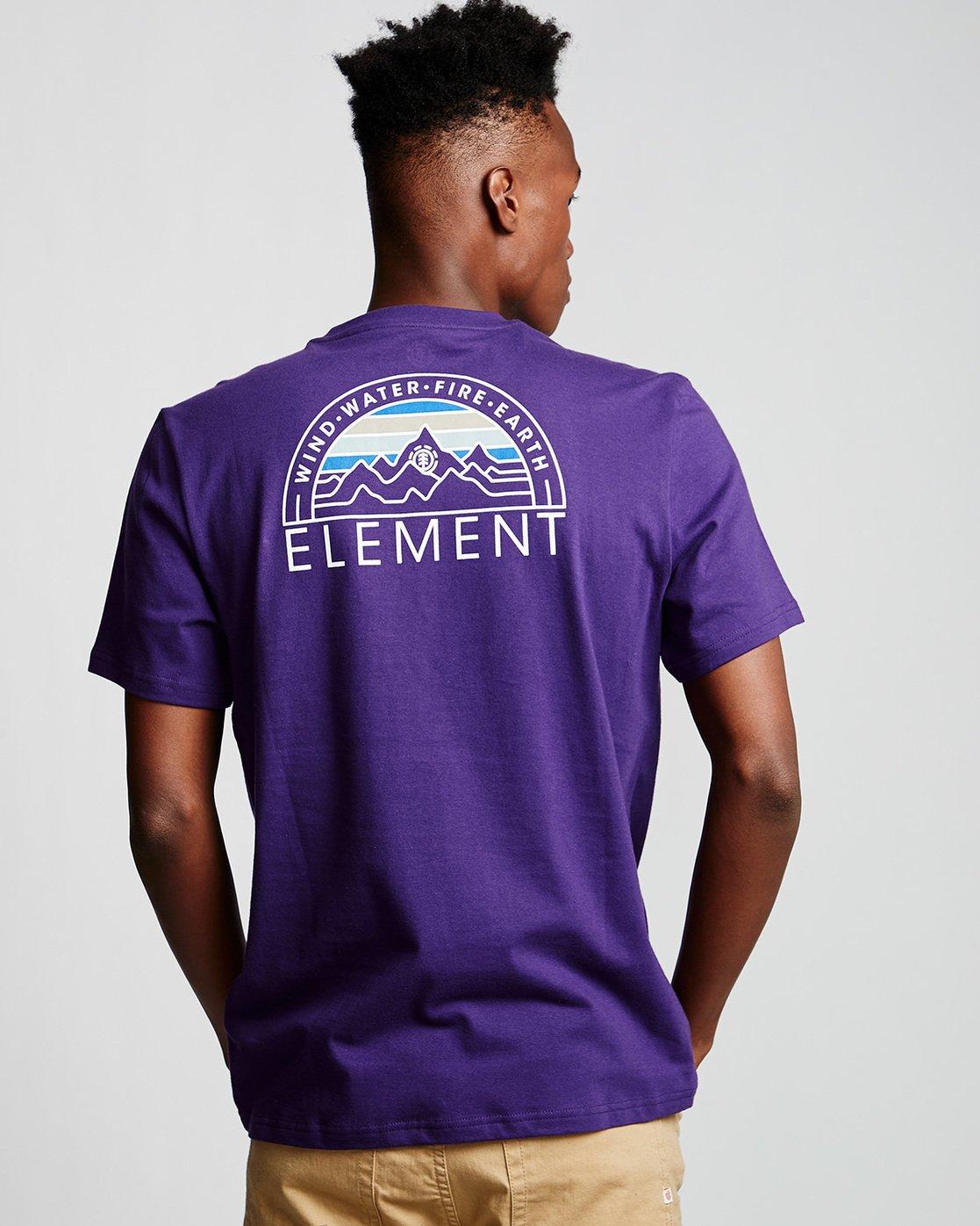 2 Odyssey - T-Shirt Purple Q1SSC8ELF9 Element