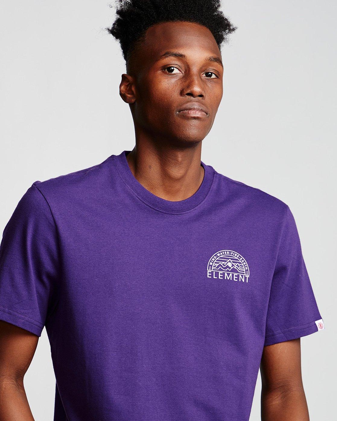1 Odyssey - T-Shirt Purple Q1SSC8ELF9 Element