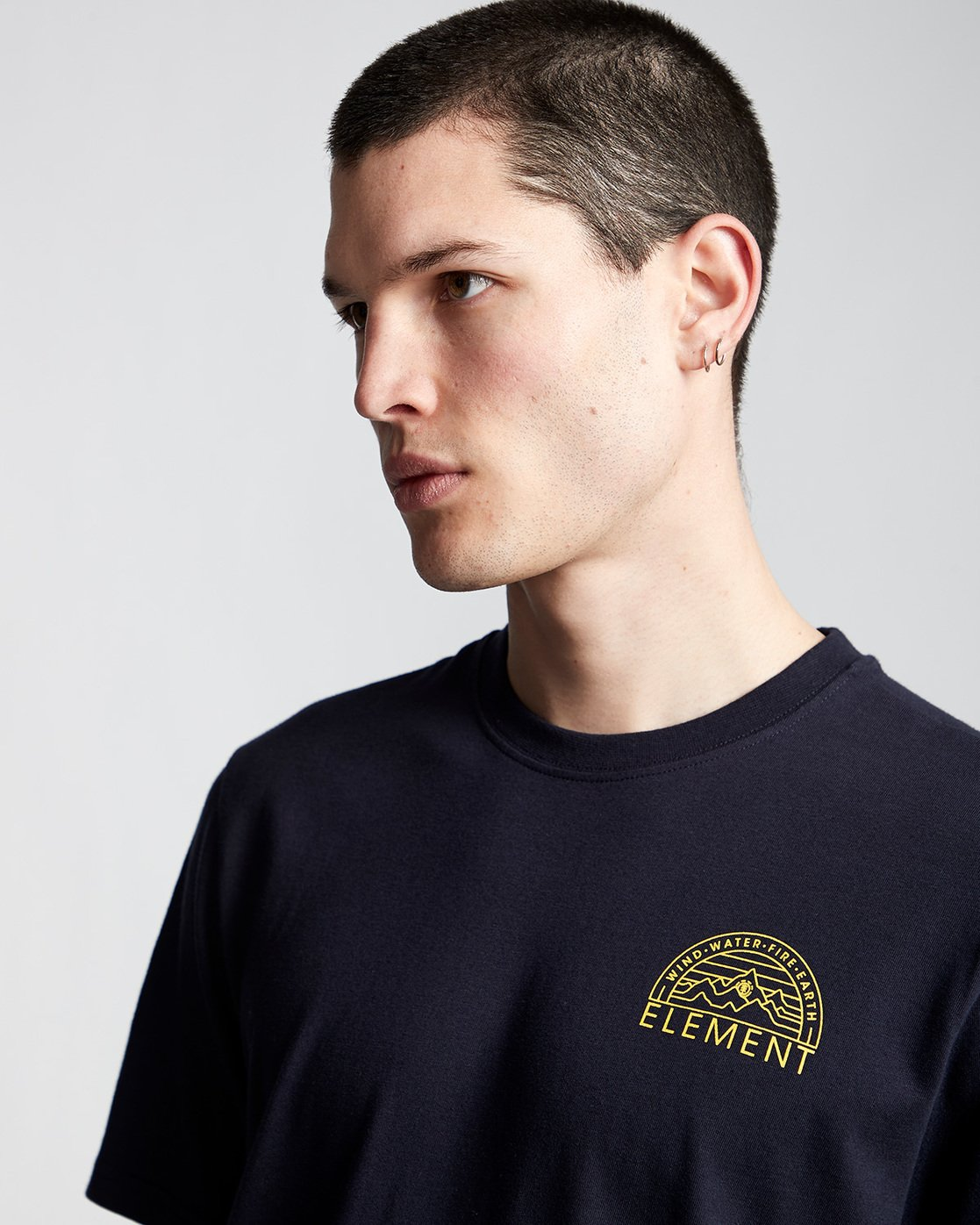 1 Odyssey - T-Shirt für Männer Blau Q1SSC8ELF9 Element