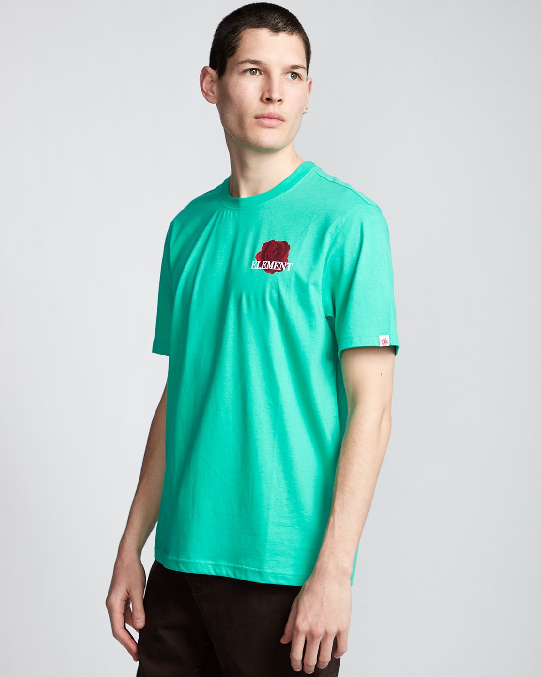 0 Burst - T-Shirt Green Q1SSE1ELF9 Element