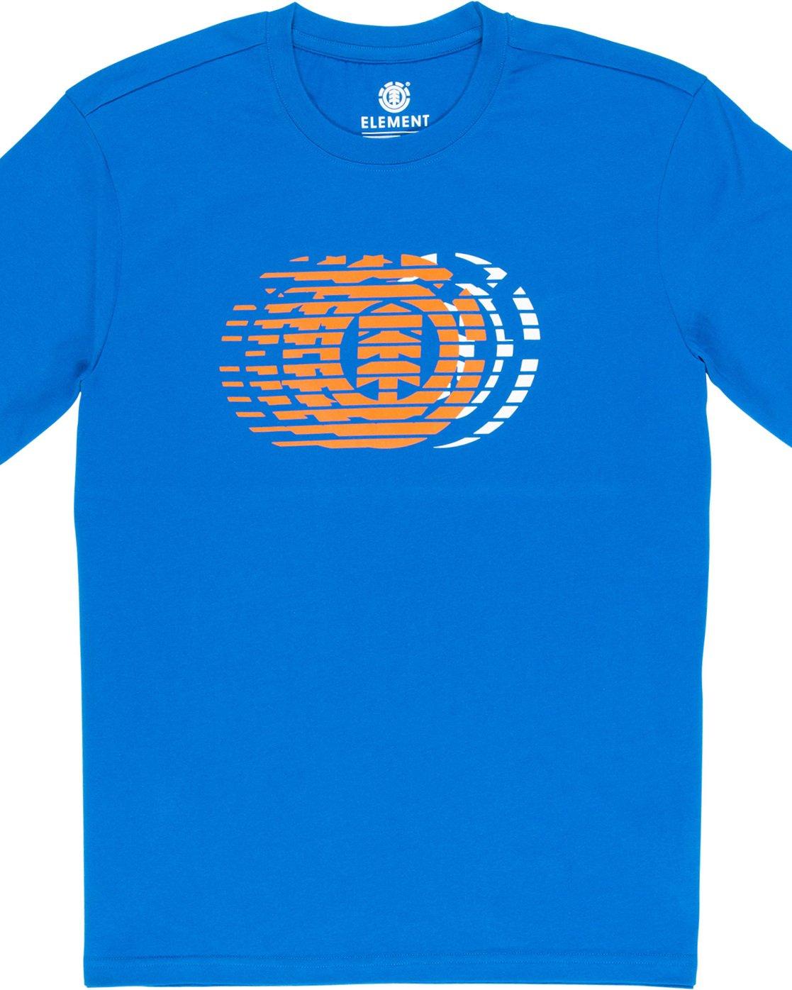 4 Victory - T-Shirt Blue Q1SSE2ELF9 Element