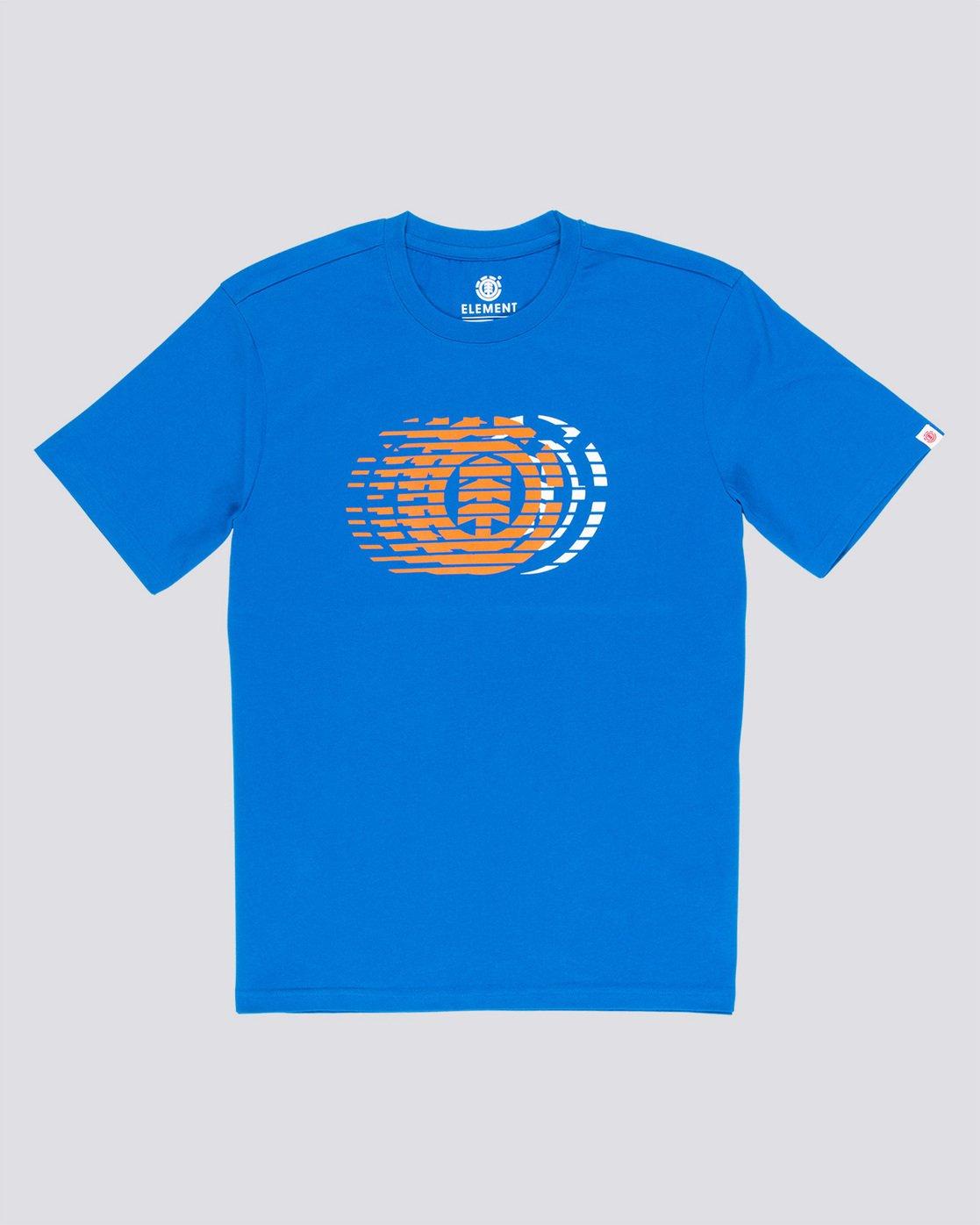 3 Victory - T-Shirt Blue Q1SSE2ELF9 Element