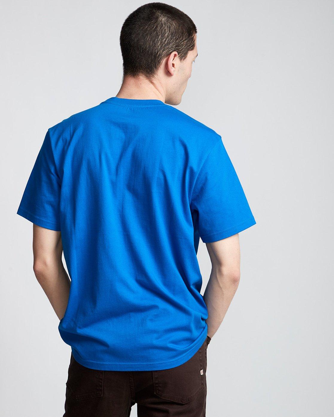 2 Victory - T-Shirt Blue Q1SSE2ELF9 Element