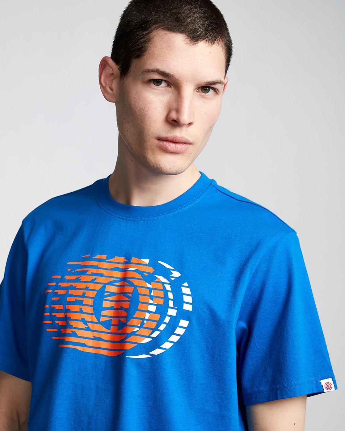 1 Victory - T-Shirt Blue Q1SSE2ELF9 Element
