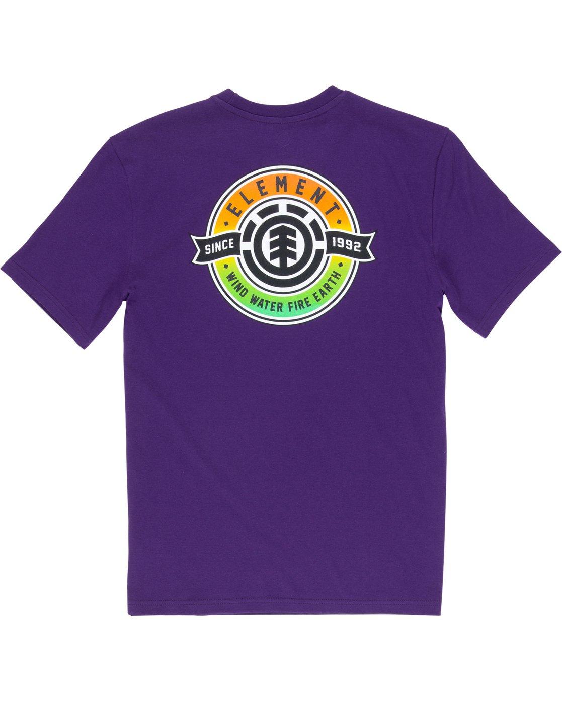 6 Medallian - T-Shirt Purple Q1SSE3ELF9 Element