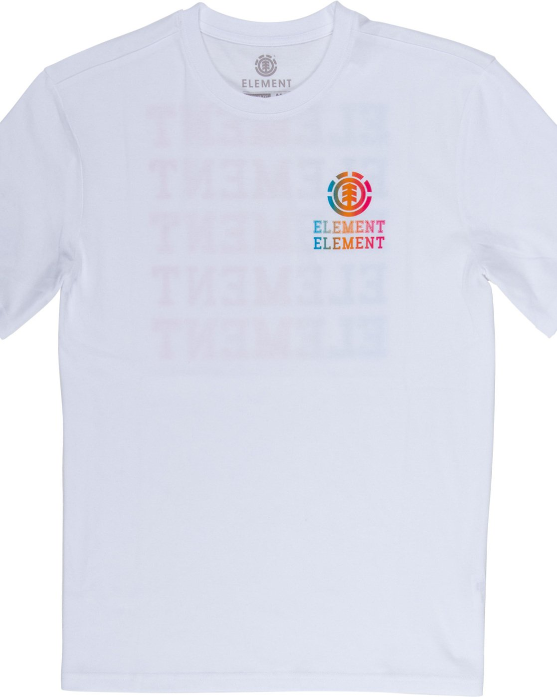 5 Drop - Maglietta da Uomo White Q1SSE4ELF9 Element